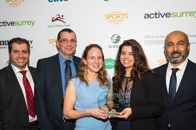 20181203-Ladies1SurreySportAward